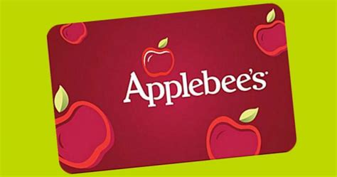 Free Applebees Gift Card - 18 000 will win free applebee s gift cards more