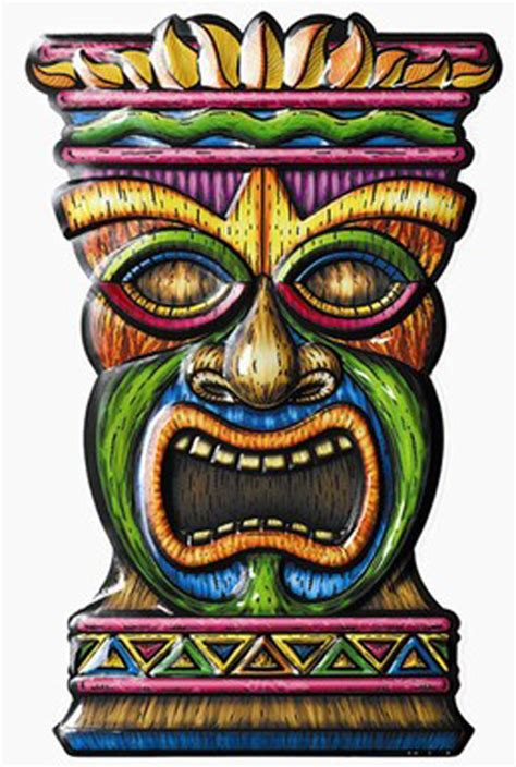 Home Decor Wall Painting Ideas by Buy New Tiki 3 D Art Form Decoration Caufields Com