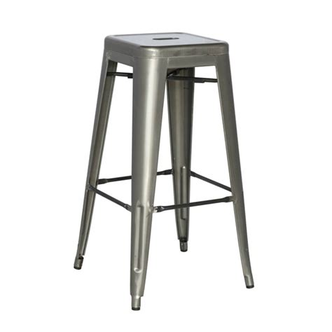 Metal Counter Height Chairs by Gun Metal Finish Counter Height Stool 24 5 Tablebasedepot