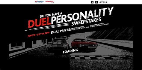 Bfgoodrich Sweepstakes - bfgoodrich duel personality sweepstakes upgrade your car upgrade your skills