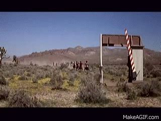 toll booth in blazing saddles on make a gif