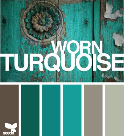 turquoise color palette color scheme turquoise and grey eclectic living home