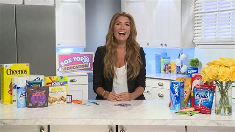 hgtv trading spaces hgtv star genevieve gorder on box tops for education