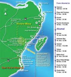 Riviera Maya Mexico Map by Where Is The Mayan Riviera In Mexico Map