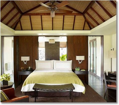 open beam ceiling create this open beam look with fabric or wallpaper