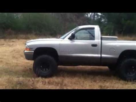 lifted dodge dakota youtube
