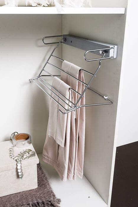 portapantaloni da armadio portapantaloni pieghevole per armadi negozio