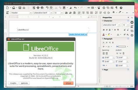 libreoffice 4 2 released with new monochrome icon theme
