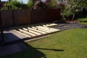Backyard Deck Ideas Ground Level Impressive Building A Ground Level Deck 7 Ground Level