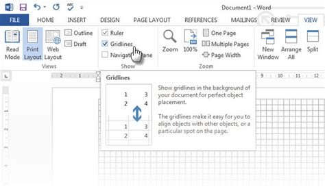 grid layout microsoft word how to create stunning flowcharts with microsoft word