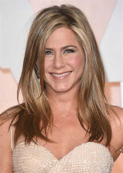 jennifer aniston half up half down hairstyles 30 stylish hairstyles with side part beauty epic