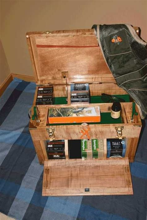 sporting clays shooting box   packman  lumberjocks