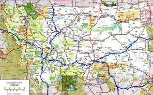 map with highways highway map of montanafree maps of us