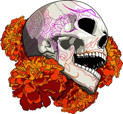 imagenes png calaveras cempax 243 chitl skull por dani ramos vakero a trav 233 s de