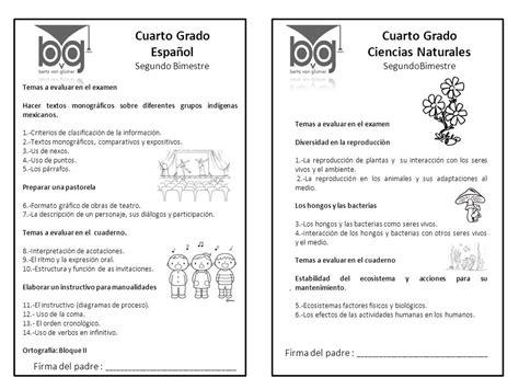 evaluacion del cuarto bimestre tercer grado ciclo escolar 2015 2016 novedades didacticas evaluacion del 3 bimestre de 5 grado de primaria examen