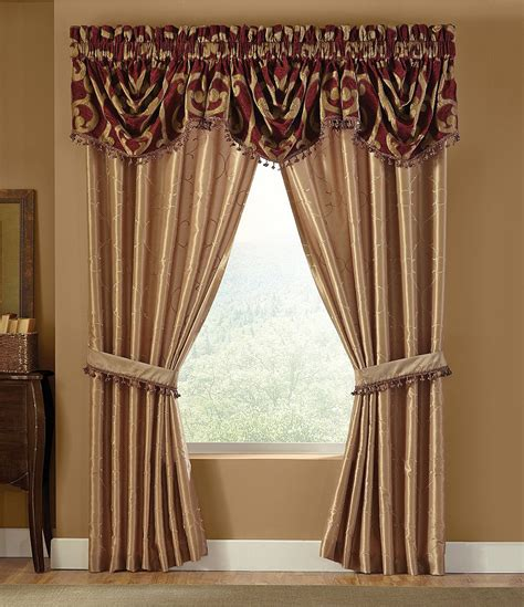 Window Valance Ideas veratex corsica scroll chenille window treatments dillards