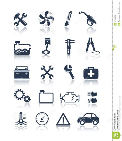 design service icon vector auto service icons stock vector illustration of sign