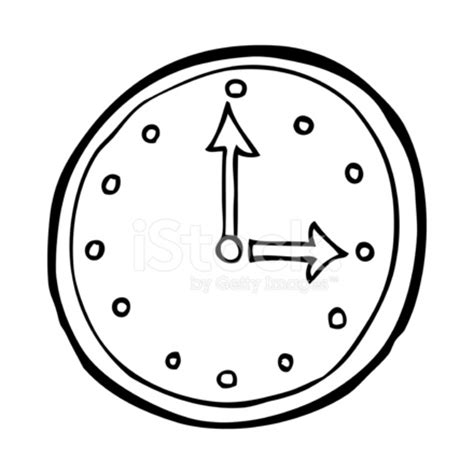 cartoon clock symbol stock vector freeimages.com