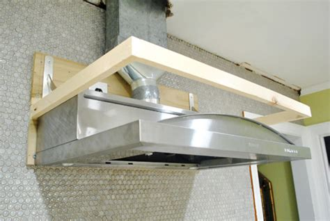 Kitchen Cabinet Liner gotcha covered building a wood range hood cover young
