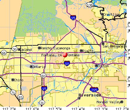map of fontana ca fontana california ca profile population maps real