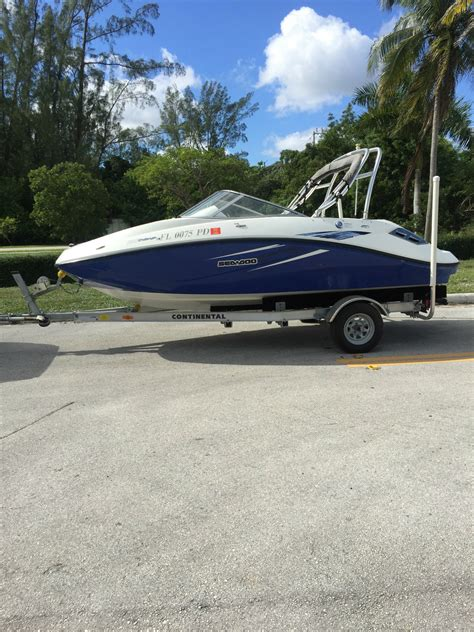 seadoo challenger for sale sea doo challenger 180 boat for sale from usa