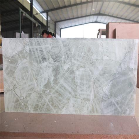 natural quartz crystal stone backlit tile slab for furniture wall design buy quartz crystal