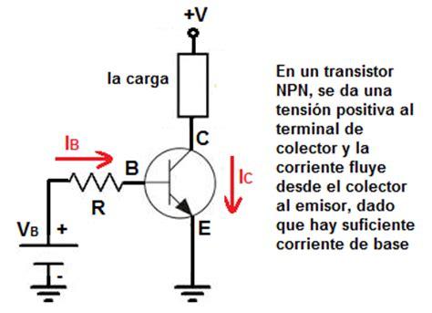 funcion transistor pnp y npn diferencia entre los transistores npn y pnp