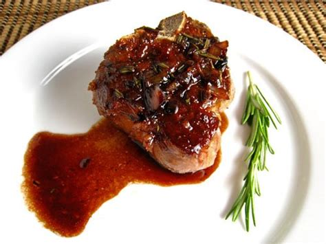 Sunday Bbq Pomegranate Grilled Chops by Chops With Pomegranate And Wine Sauce On Closet
