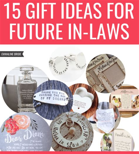 gift ideas for the inlaws 15 gift ideas for future in laws wedding etiquette
