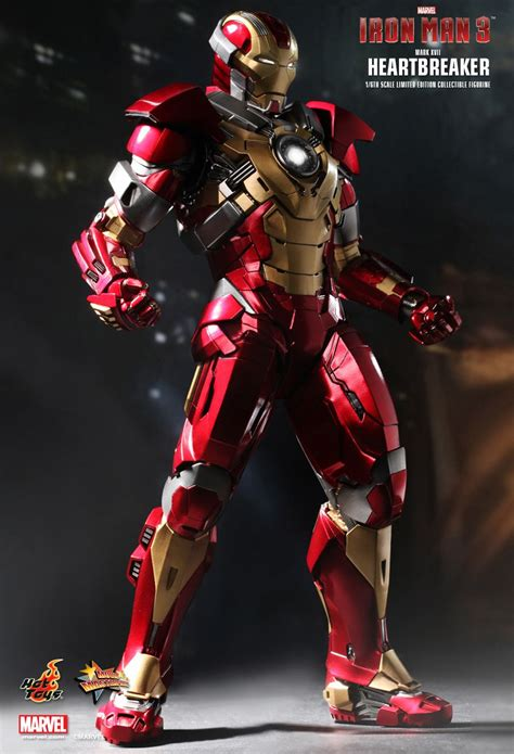 Toys Ironman Iii toys iron 3 heartbreaker xvii 1 6th scale limited edition collectible figurine