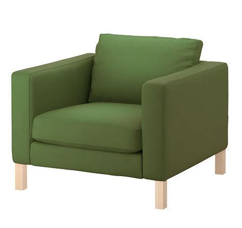 ikea green chair ikea karlstad armchair slipcover chair cover sivik green