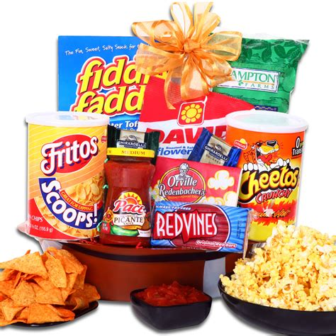 football snack gift basket - Snack Gifts