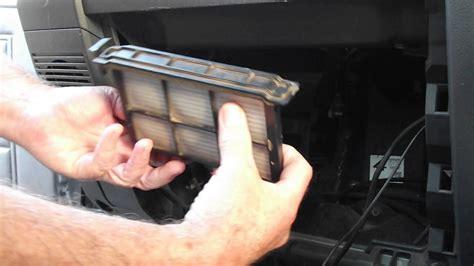 installing cabin pollen filter landcruiser vdjr youtube