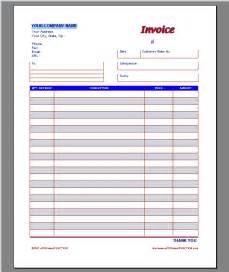 Work Invoice Template Free by Work Order Invoice Template Work Invoice Template Blank