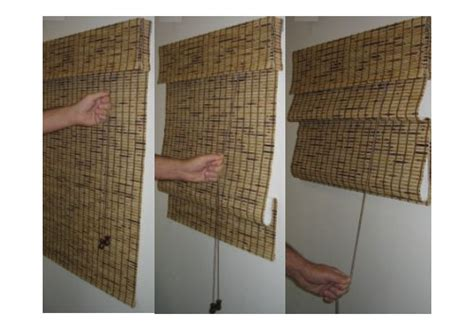 canas de cocina rusticas cortinas de bamb 250