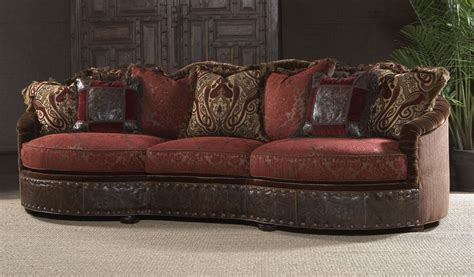 leather and fabric sofa and loveseat luxury furniture sofa couch and decorative pillows