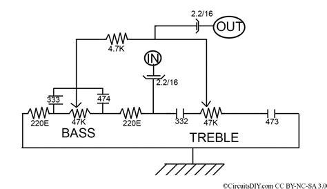 bass treble circuit diagram transistor bass treble circuit diagram somurich