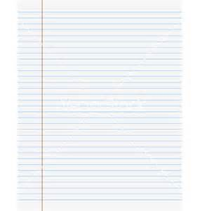 exercise book paper page with lines vector by iunewind