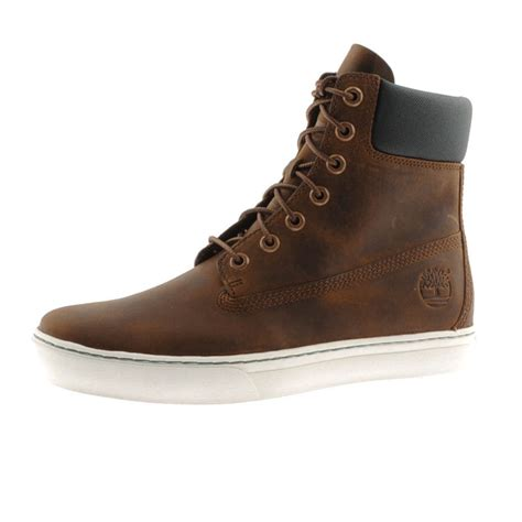 timberland shoes timberland 20 newmarket 6inch cupsole boots in brown for
