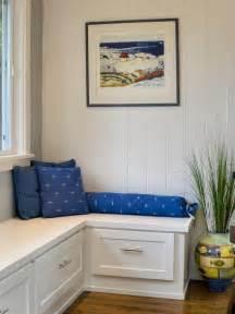breakfast nook corner seating storage kitchen re do