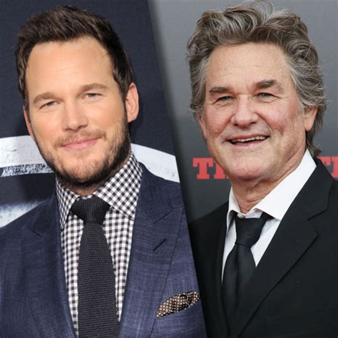 christopher russell and kurt russell russell to play chris pratt s dad in guardians of the
