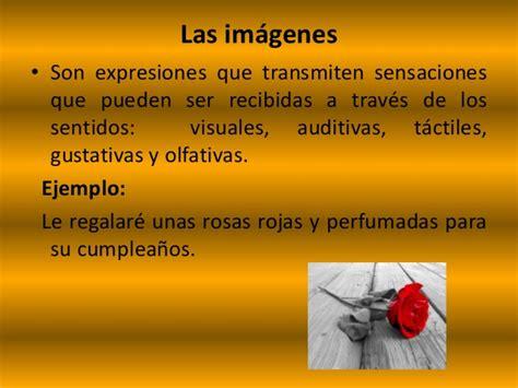 imagenes literarias tactiles ejemplos recursos literarios 1
