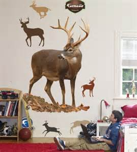 Deer Stickers For Wall Large Deer Wall Decal 171 Decals And Skins