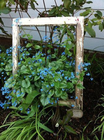 Garden Junk Ideas Framed Quot Flowers Garden Junk Ideas Single Window Frame Without The Glass Garden