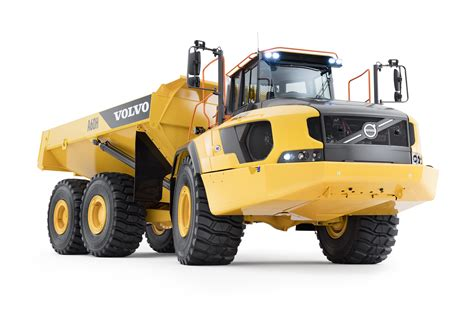 volvo ce reports pct rise    sales