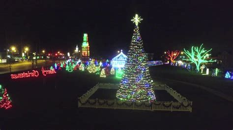 strongsville city christmas light display youtube