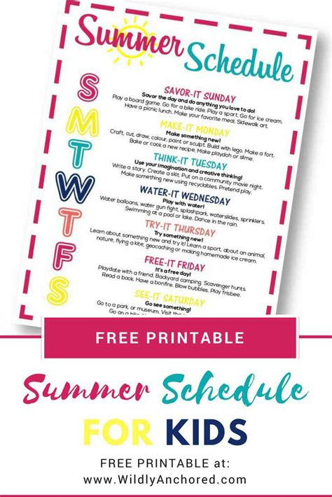moms kids happy   summer schedule defeating busy