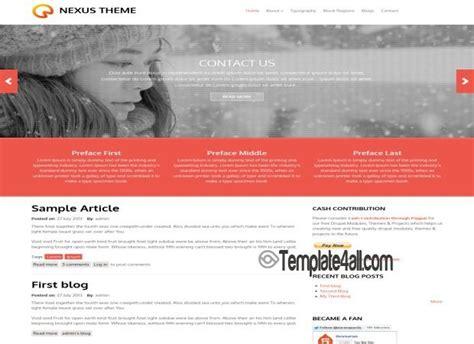 drupal theme query string responsive business drupal theme download