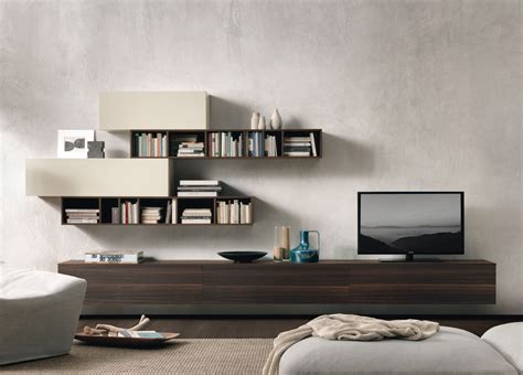 jesse open wall unit  contemporary wall units