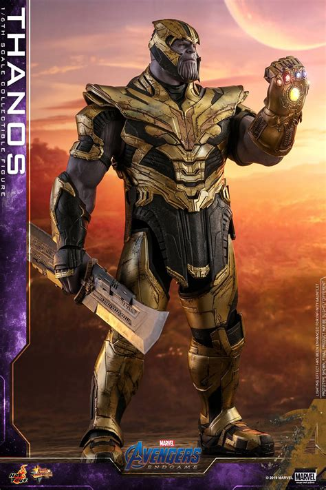hot toys previews thanos avengers endgame